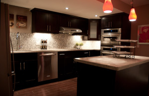 Brampton Basement Kitchen